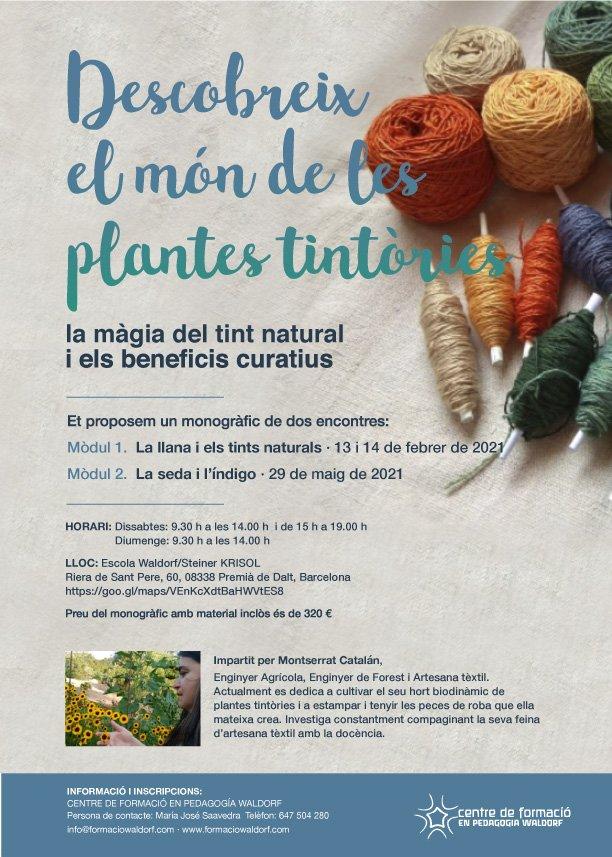 El món de les plantes tintòries
